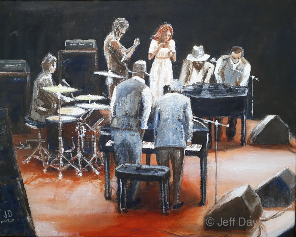 Stomping Ivories and friends