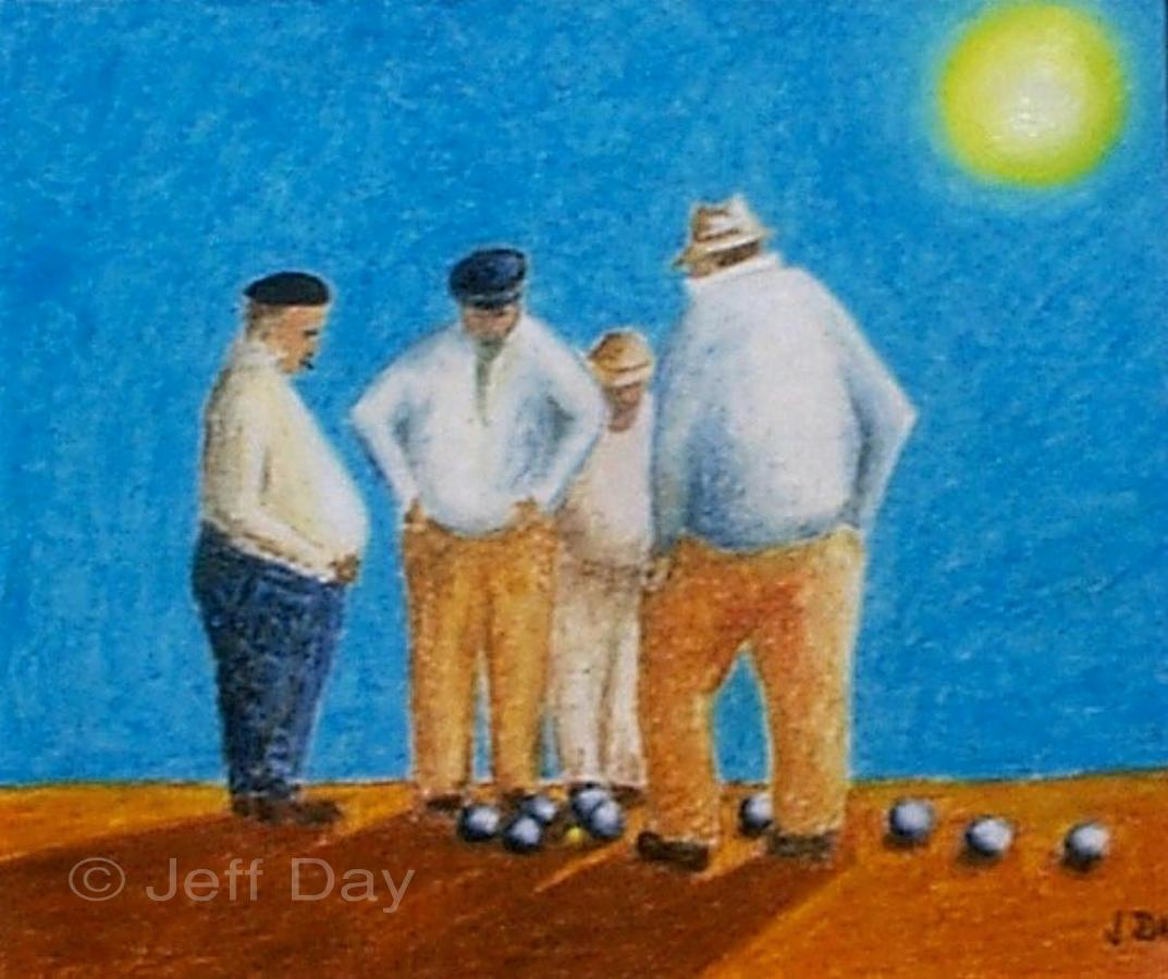 The Boules Players